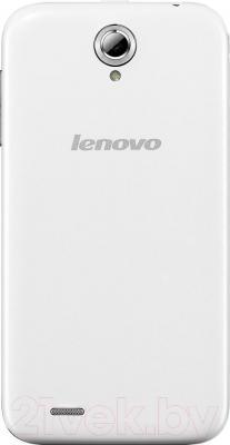 Смартфон Lenovo A859 (White) - вид сзади