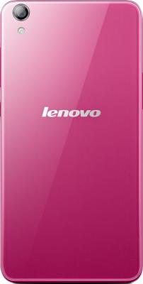Смартфон Lenovo S850 (розовый) - вид сзади