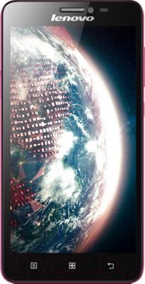 Смартфон Lenovo S850 (розовый) - общий вид