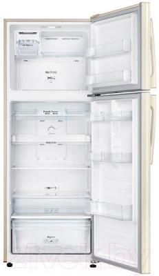 Холодильник с морозильником Samsung RT46H5130EF/WT - внутренний вид
