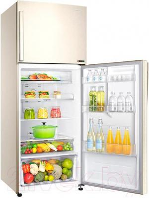 Холодильник с морозильником Samsung RT46H5130EF/WT - холодильная камера изнутри
