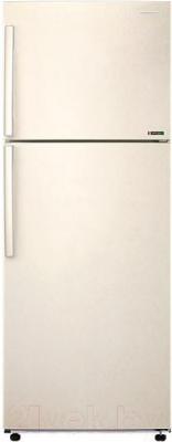 Холодильник с морозильником Samsung RT46H5130EF/WT - вид спереди