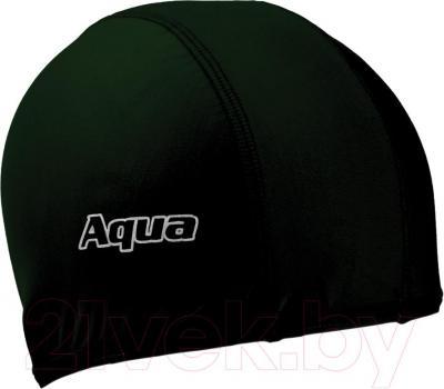 Шапочка для плавания Aqua 352-07301  (черный) - общий вид