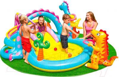 Водный игровой центр Intex 57135 (333x229x112) - общий вид
