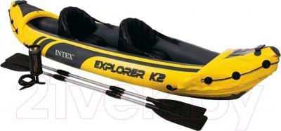 Надувная лодка Intex 68307NP Explorer K2 - общий вид