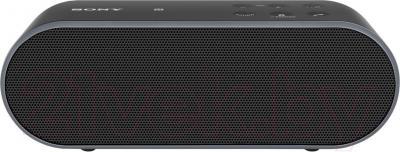 Портативная колонка Sony SRS-X2B - вид спереди