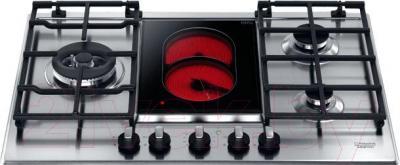 Комбинированная варочная панель Hotpoint PK 741 RQO GH /HA - общий вид