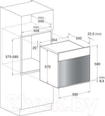Электрический духовой шкаф Hotpoint FK 1041 LP.20 X/HA (CF)