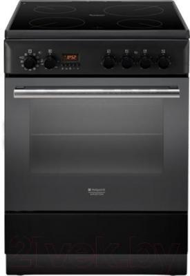 Кухонная плита Hotpoint H6VMH60A (A) UA - общий вид