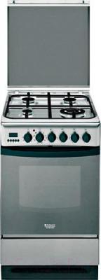 Кухонная плита Hotpoint C 35S P6 (X) R/HA S - общий вид