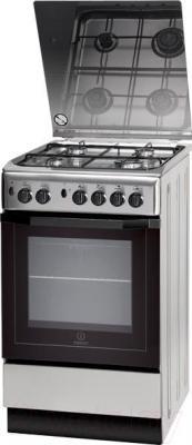 Кухонная плита Indesit I5GG10G (X) KZ - общий вид