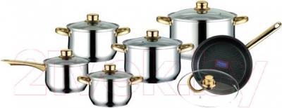 Набор кухонной посуды Peterhof PH-15132 - общий вид