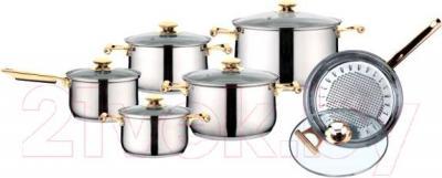 Набор кухонной посуды Peterhof PH-15141 - общий вид