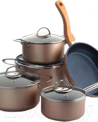 Набор кухонной посуды WELZ AW-2202 - общий вид