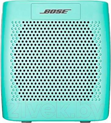 Портативная колонка Bose SoundLink Color (Mint) - вид спереди