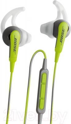Наушники-гарнитура Bose SoundSport for iPhone (Green) - общий вид