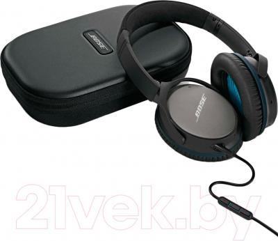 Наушники-гарнитура Bose QuietComfort 25 (черный) - с чехлом