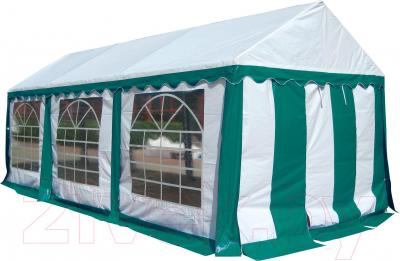 Тент-шатер Sundays P36201G (White-Green) - общий вид