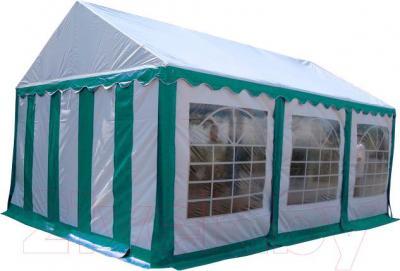 Тент-шатер Sundays P46201G (White-Green) - общий вид