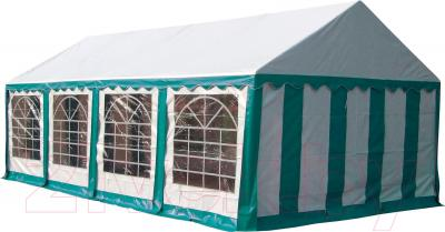 Тент-шатер Sundays P48201G (White-Green) - общий вид