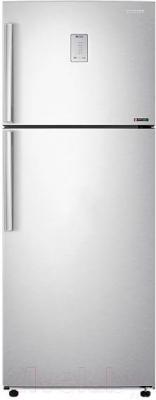 Холодильник с морозильником Samsung RT46H5340SL/WT - вид спереди