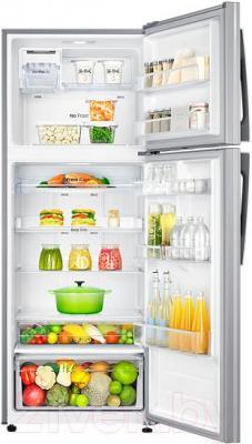 Холодильник с морозильником Samsung RT46H5340SL/WT - камеры хранения
