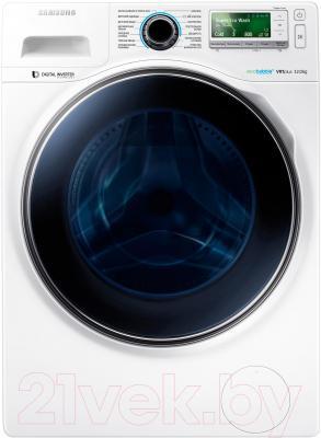 Стиральная машина Samsung WW12H8400EW/LP - фронтальный вид