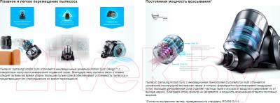 Пылесос Samsung SC07F80UC (VC07F80UNCC/EV) - преимущества модели