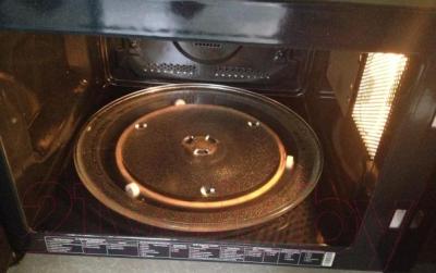 Микроволновая печь Samsung MC28H5135CK/BW - тарелка