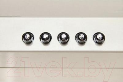 Вытяжка купольная Zorg Technology REA 750 (60, White) - кнопки управления