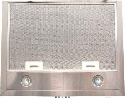 Вытяжка купольная Zorg Technology Kvinta 750 (60, нержавеющая сталь) - вид снизу