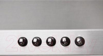 Вытяжка купольная Zorg Technology Kvinta 750 (60, нержавеющая сталь) - кнопки управления