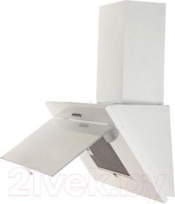 Вытяжка декоративная Zorg Technology Lana 750 (60, белый) - вид сбоку