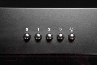 Вытяжка декоративная Zorg Technology Lana 750 (60, черный) - кнопки управления