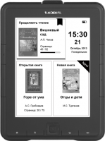 Электронная книга TeXet TB-137SE (4Gb, Black) -