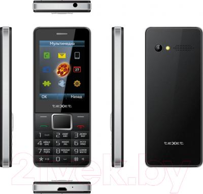 Мобильный телефон TeXet TM-D225 (черный) - полный обзор панелей