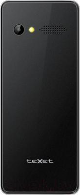 Мобильный телефон TeXet TM-D225 (черный) - вид сзади