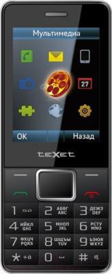 Мобильный телефон TeXet TM-D225 (черный) - общий вид