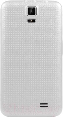 Смартфон TeXet X-mini / TM-3504 (белый) - вид сзади