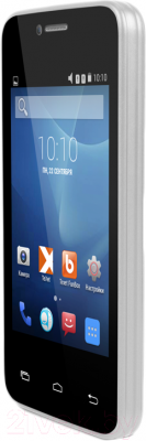 Смартфон TeXet X-mini / TM-3504 (белый) - вполоборота