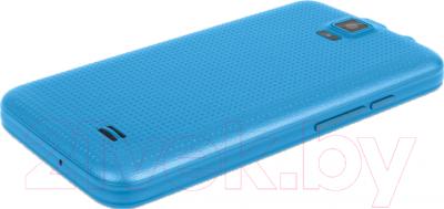 Смартфон TeXet X-mini / TM-3504 (голубой) - вид лежа