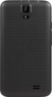 Смартфон TeXet X-mini / TM-3504 (черный) - вид сзади