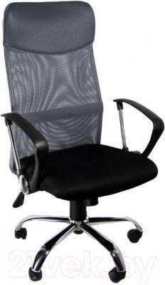 Кресло офисное Деловая обстановка Бета F-880В (черный) - общий вид