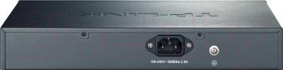 Коммутатор TP-Link TL-SG1008PE - вид сзади