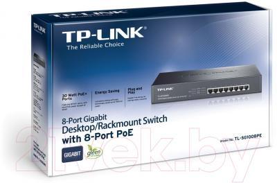 Коммутатор TP-Link TL-SG1008PE