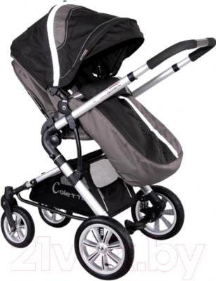Детская универсальная коляска Coletto Giovanni 2 в 1 (черный) - прогулочная