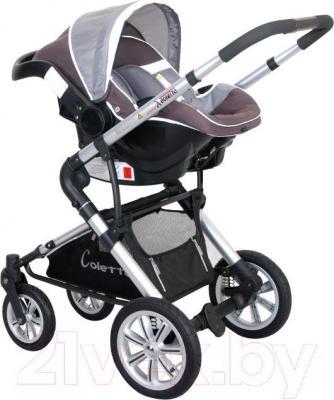Детская универсальная коляска Coletto Giovanni 2 в 1 (черный) - общий вид