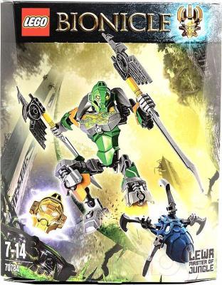 Конструктор Lego Bionicle Лева - Повелитель Джунглей (70784) - упаковка
