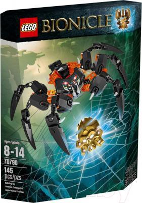 Конструктор Lego Bionicle Лорд Паучий Череп (70790) - упаковка