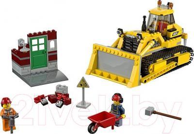 Конструктор Lego City Бульдозер (60074) - общий вид